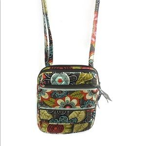 Vera Bradley Hipster in Flower Shower Crossbody